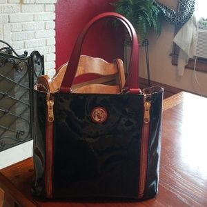 Large, expandable Spartina tote